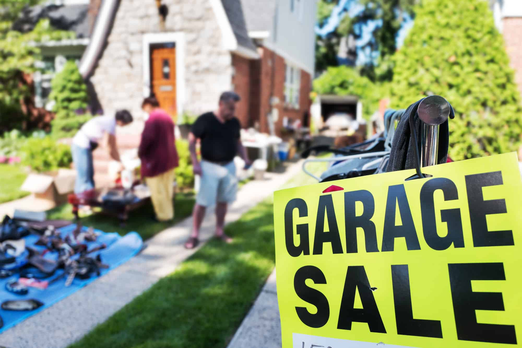 estate sales vs. garage sales